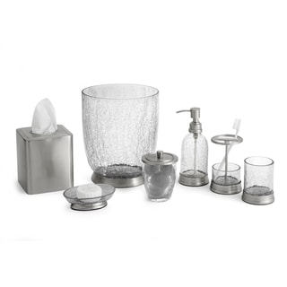 Heirloom Crackle 7-Piece Bath Accessory Set