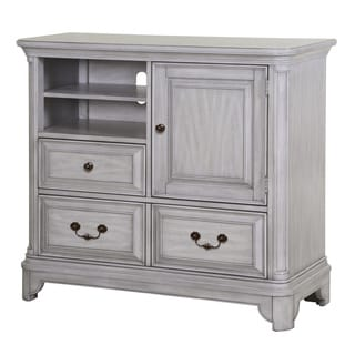 Magnussen Home Furnishings Windsor Lane Weathered Grey Wood 2-drawer Media Chest