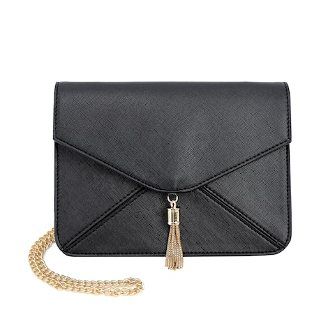 Olivia Miller Eris Leather Envelope Clutch Crossbody Handbag