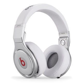 Beats by Dre Pro White Aluminum Alloy Wired Over-ear Headphones