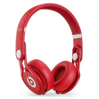 Beats by Dre 'Mixr' Red Refurbished On-ear Headphones