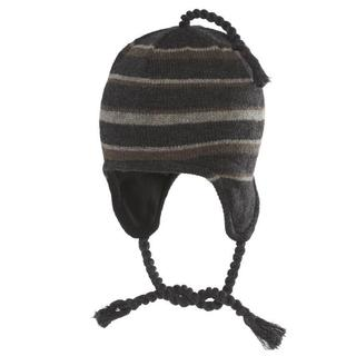 Chaos Hats Hatcher Ragg Wool Striped Earflap Beanie