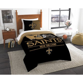 The Northwest Company NFL New Orleans Saints Draft Twin 2-piece Comforter Set