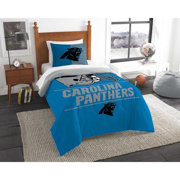 The Northwest Company NFL Carolina Panthers Draft Multicolor 2-piece Twin Comforter Set