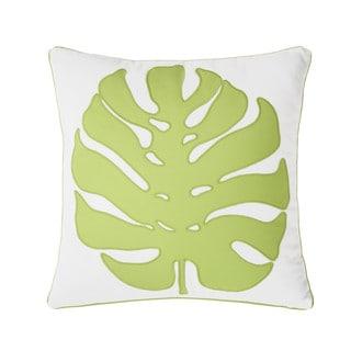 Dena Home Palm Court Square Ginko Decorative Throw Pillow