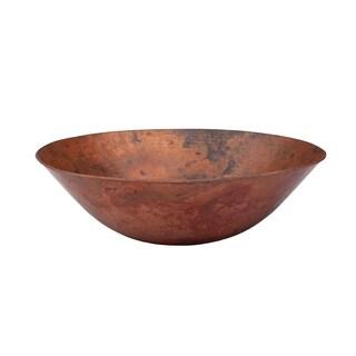 Novatto Catalonia Copper Vessel Sink, Natural