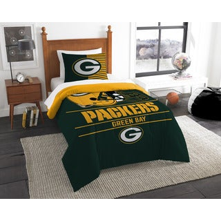 The Northwest Company NFL Green Bay Packers Draft Twin 2-piece Comforter Set