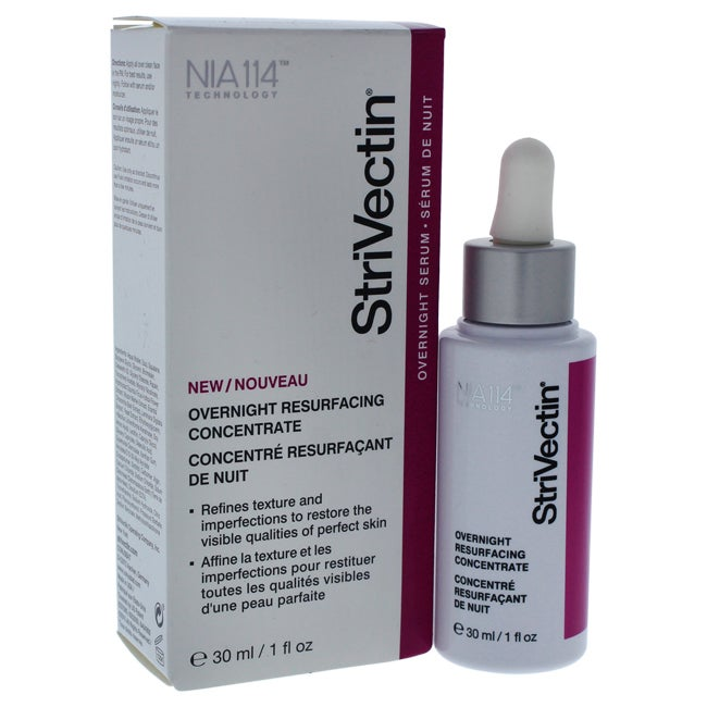 StriVectin Overnight 1-ounce Resurfacing Concentrate, White