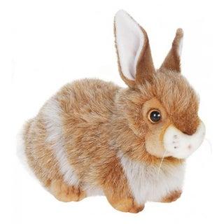 Hansa Brown Mix Rabbit Plush Toy