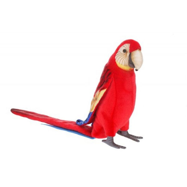 Hansa Scarlet Macaw Plush Toy