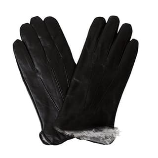 100 Love Men's Bon Banito Black Genuine Soft Leather Gloves|https://ak1.ostkcdn.com/images/products/13330019/P20034014.jpg?impolicy=medium