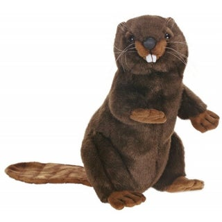 Hansa Upright Beaver Plush Toy