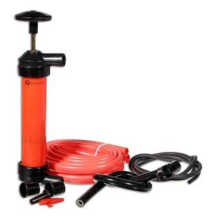 Zone Tech 3-in-1 Hand Siphon Gas/Liquid/Air Manual Emergency Travel Pump