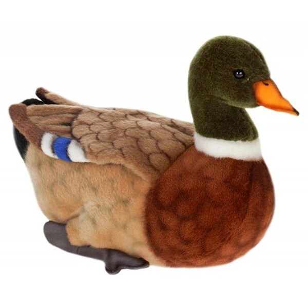 Hansa Mama Mallard Duck Plush Toy