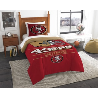 The Northwest Company NFL San Francisco 49ers Draft Twin 2-piece Comforter Set