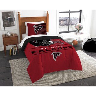 The Northwest Company NFL Atlanta Falcons Draft Multicolor Twin 2-piece Comforter Set