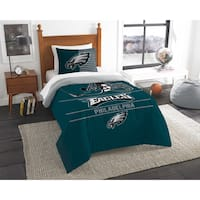 The Northwest Company NFL Philadelphia Eagles Draft Twin 2-piece Comforter Set