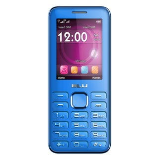 BLU Diva II T275 Unlocked GSM Feature Phone - Blue