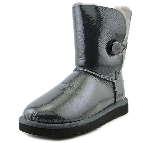 Black Patent Leather Boots - Overstock