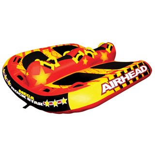 Airhead Mega Rock Star Multicolor PVC Inflatable Water Tube