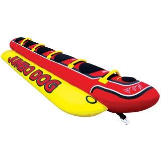 Airhead Multicolored PVC Inflatable Jumbo Dog Water Tube