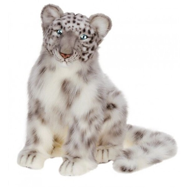 Hansa Snow Leopard Cub Plush Toy