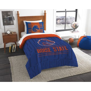 The Northwest Company COL 862 Boise State Modern Take 2-piece Twin Comforter Set