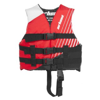 Airhead Red Polyester Water Safety Vest