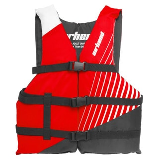 Airhead Ramp Red Polyester Universal Adult Life Vest