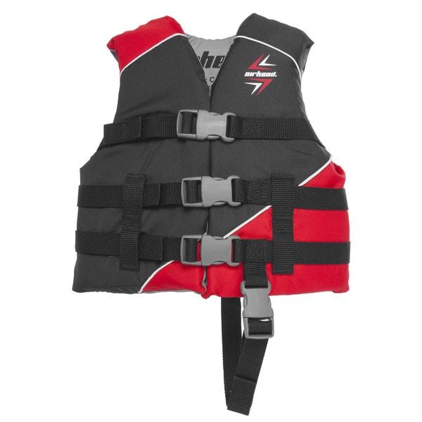 Airhead Children's Slash Red Polyester 30- to 50-pound Vest