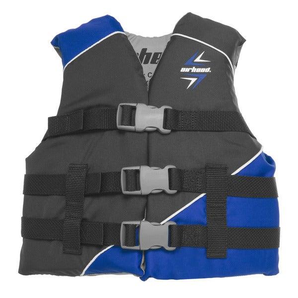 Sportsstuff Youths' Slash Blue Polyester Safety Vest
