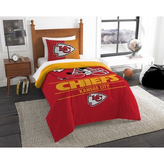 The Northwest Company NFL Kansas City Chiefs Draft Twin 2-piece Comforter Set