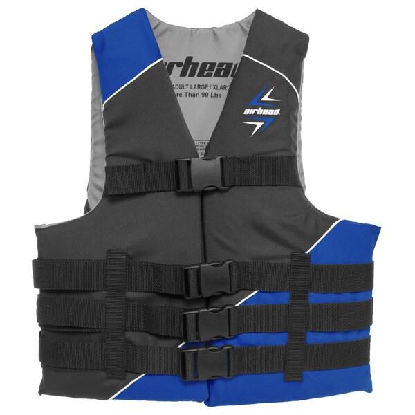 Sportsstuff Slash Blue Polyester Small/Medium Safety Vest