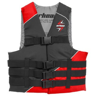 Sportsstuff Slash Red Polyester Vest