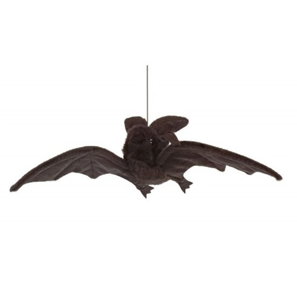 Hansa Black Hanging Bat Plush Toy