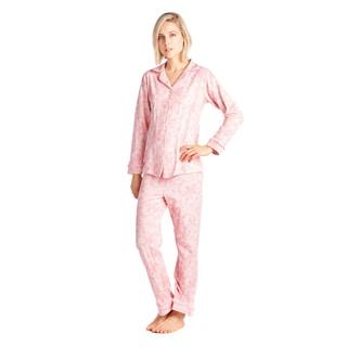 BedHead Pajamas Classic Long Sleeve Cotton and Spandex Pajama Set
