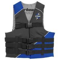 Airhead Slash Blue Polyester 4XL/6XL Vest