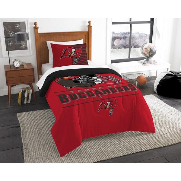The Northwest Company NFL Tampa Bay Buccaneers Draft Twin 2-piece Comforter Set
