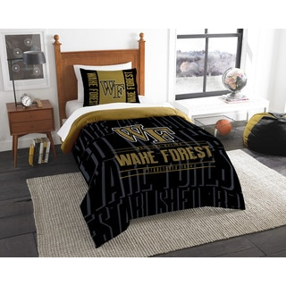 COL 862 Wake Forest Modern Take 2-piece Twin Comforter Set