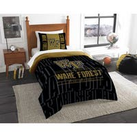 The Northwest Company COL 862 Wake Forest Modern Take 2-piece Twin Comforter Set