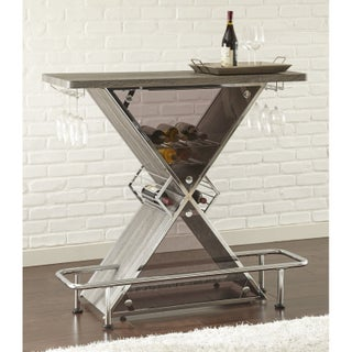 Greyson Living Jolie Bar Table (Option: Grey - Grey Finish)