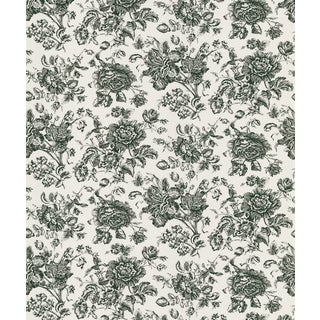 Brewster Multicolored Floral Toile Unpasted Wallpaper