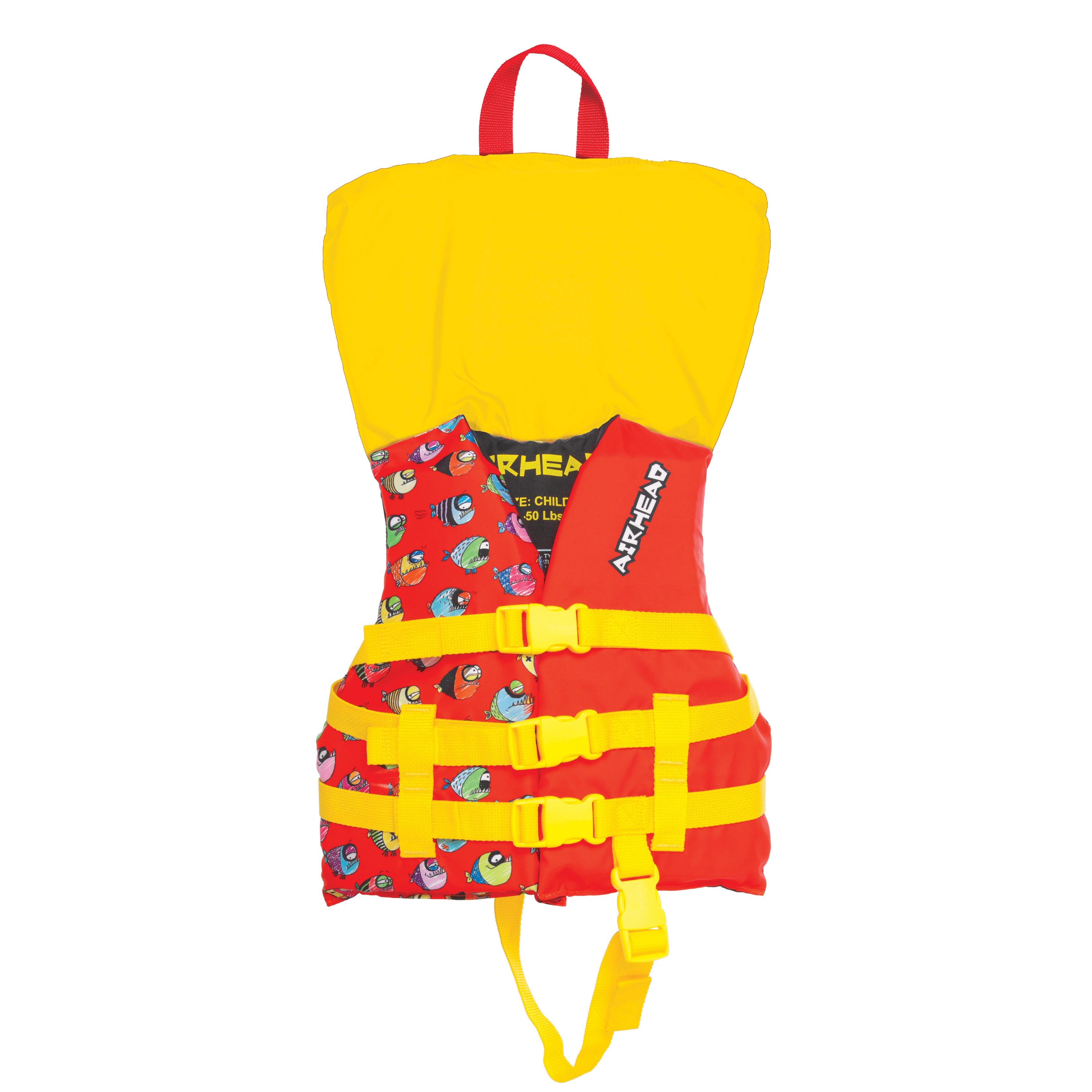 Airhead Children's Crayon Fish Multicolor Polyester Vest ...