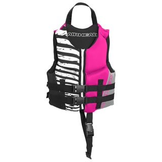 Airhead Children's Wicked Hot Pink Kwik-Dry Neolite Flex Vest