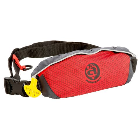 Airhead Red 24g SL Basic (6F) Inflatable Belt Pack Personal Flotation Device