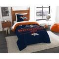 The Northwest Company NFL Denver Broncos Draft Multicolored Twin 2-piece Comforter Set
