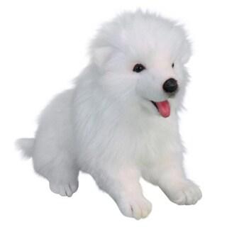 Hansa Samoyed Puppy Plush Toy