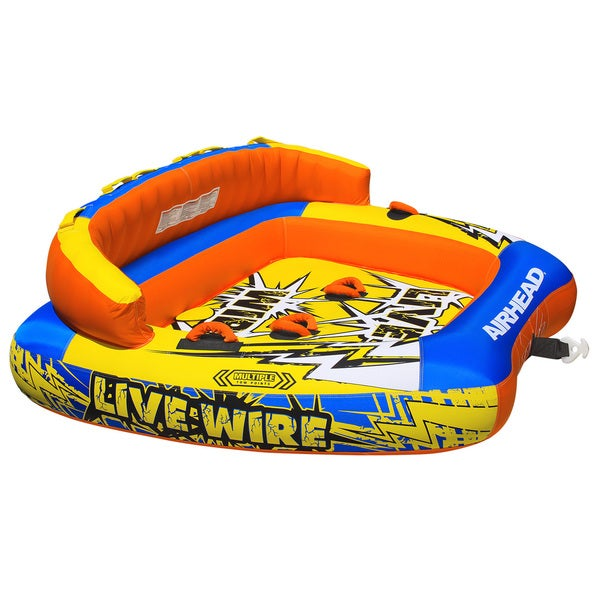 Airhead Live Wire Inflatable 3-rider Water Tube