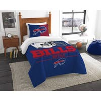 The Northwest Company NFL Buffalo Bills Draft Twin 2-piece Comforter Set