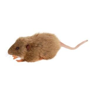 Hansa Brown Mouse Plush Toy